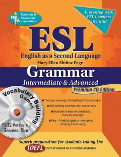 ESL, English as A Second Language