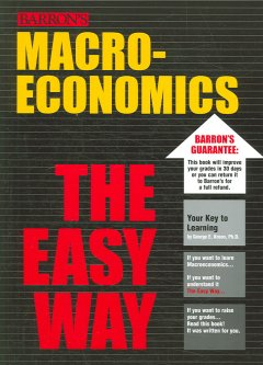 Barron's Macroeconomics the Easy Way