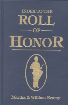 Index to the Roll of Honor