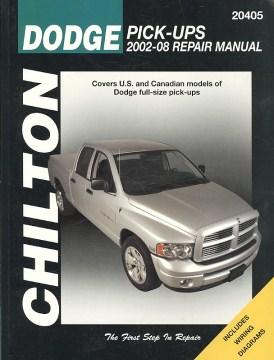 Chilton's Dodge Pick-ups 2002-08 Repair Manual