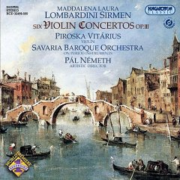 Six violin concertos, op. 3
