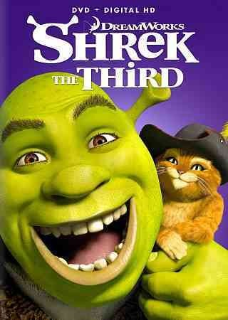 Shrek The Third Dvd Tacoma Public Library Bibliocommons