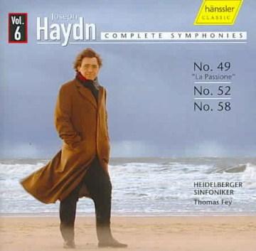 Symphonies 49, 52, 58