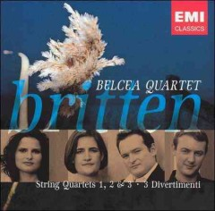 String quartets 1, 2, & 3