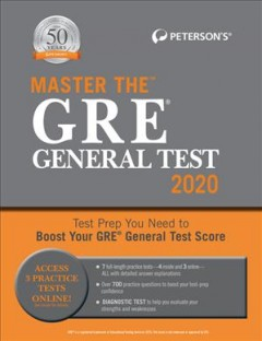 Peterson's Master the GRE General Test 2020