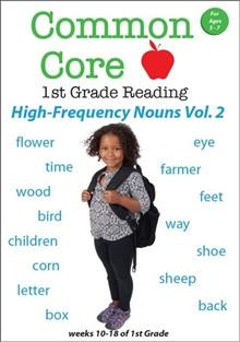 Common Core 1st Grade High-frequency Nouns