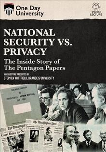 National Security Vs. Privacy