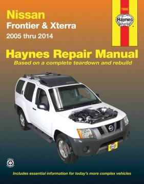 Nissan Frontier & Xterra Automotive Repair Manual