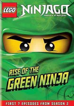 LEGO-Ninjago,-Masters-of-Spinjitzu.-Rise-of-the-Green-Ninja:-First-7-episodes-from-season-2