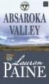 Absaroka Valley [large print]