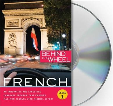 Behind the Wheel French Book Cover