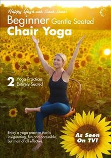 Gentle seated chair yoga for beginners.