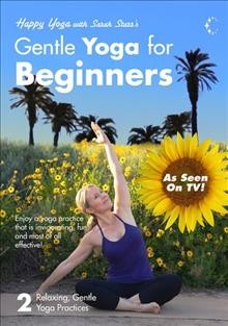 Gentle yoga for beginners.