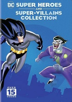 DC super heroes and super-villains collection.
