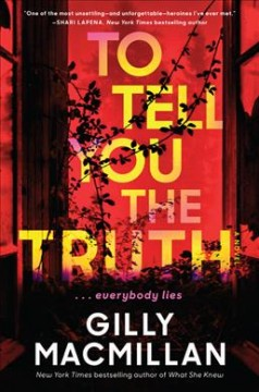 To tell you the truth - a novel