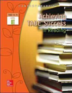 Achieving TABE success in reading - level E.