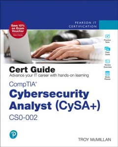 Comptia Cybersecurity Analyst Cysa+ - Cs0-002 Cert Guide