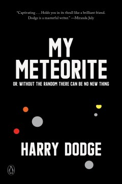 My meteorite, or, Without the random there can be no new thing / Or, Without the Random There Can Be No New Thing