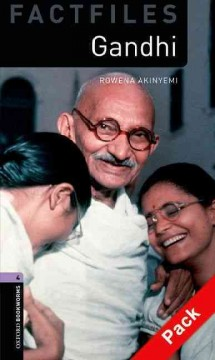 Gandhi- Oxford Bookworms Library Factfiles- Level 4 audio CD pack