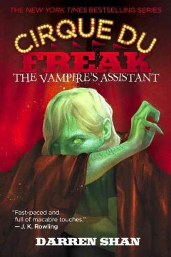the vampires assistant, reviewed by: jamie <br />