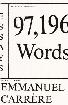 97,196 words - essays