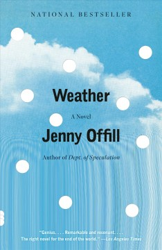 Weather - a novel