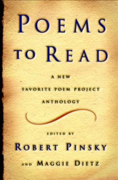 Poems to Read: A New Favorite Poem Project Anthology