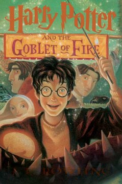 Harry Potter and the Goblet of Fire, reviewed by: AiAi Liu <br />