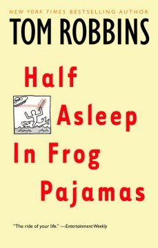 Half asleep in frog pajamas