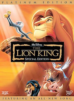 The Lion King [Motion picture - 1994] [2-discs] [special edition]