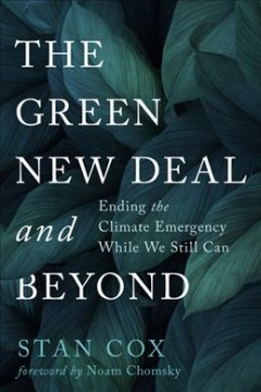 The green new deal and beyond - ending the climate emergency while we still can
