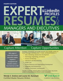 Expert Resumes and Linkedin Profiles for Managers & Executives