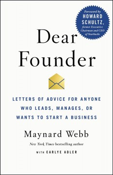 New adult nonfiction books monroe county public library indiana dear founder letters of advice for anyone who leads manages or wants to fandeluxe Choice Image