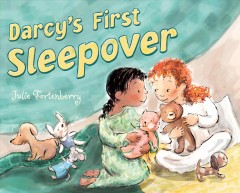 Darcy's first sleepover