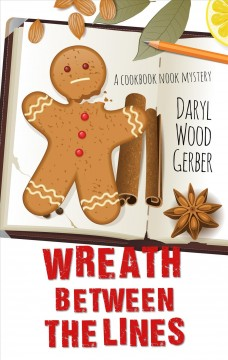 Wreath between the lines - a Cookbook Nook mystery