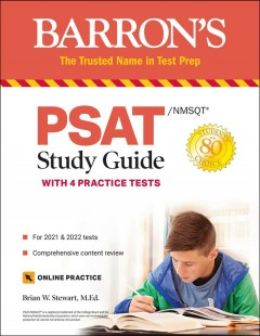 Barron's PSAT/NMSQT study guide with 4 practice tests