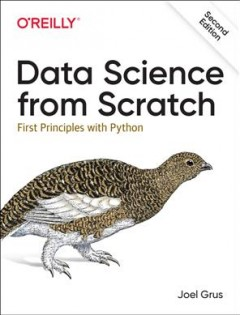 Data science from scratch - first principles with Python