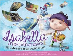 Isabella, artist extraordinaire - just how inspired can a little girl be?
