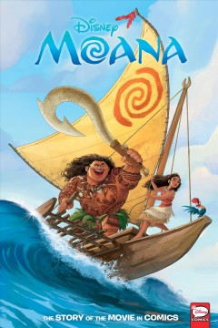 Moana - the story of the movie in comics