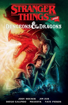 Stranger Things and Dungeons & Dragons. Issue 1-4
