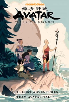 Avatar the Last Airbender - The Lost Adventures and Team Avatar Tales- Library Edition