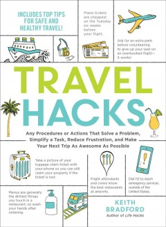 Travel hacks - any procedures or actions that solve a problem, simplify a task, reduce frustration, and make your next trip as awesome as possible