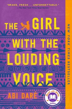 The girl with the louding voice - a novel
