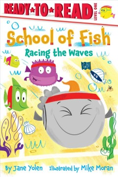 School of fish. Racing the waves