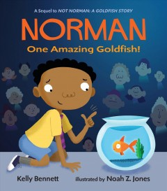 Norman - one amazing goldfish!