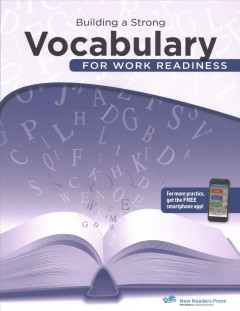Building a strong vocabulary for work readiness