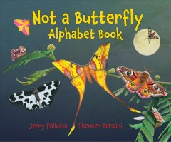 Not a butterfly alphabet book - it's about time moths had their own book!