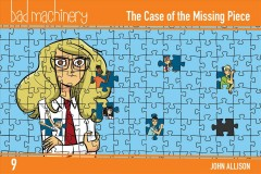 Bad Machinery. Vol 9, the Case of the Missing Piece