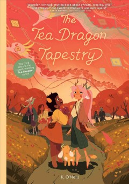 Tea Dragon. 3, The Tea Dragon tapestry
