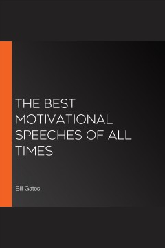 The best motivational speeches of all times